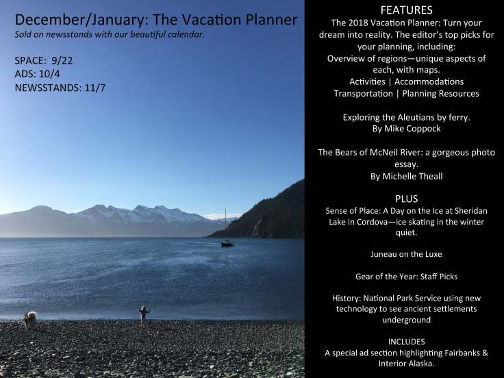 Alaska- THE VACATION PLANNER ISSUE